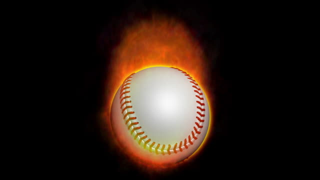 Baseball mit Feuer 2 Animationen – Video