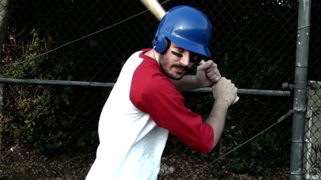 Baseball Spieler batting cage V3 – Video