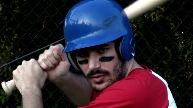 Baseball Spieler batting cage V4 – Video