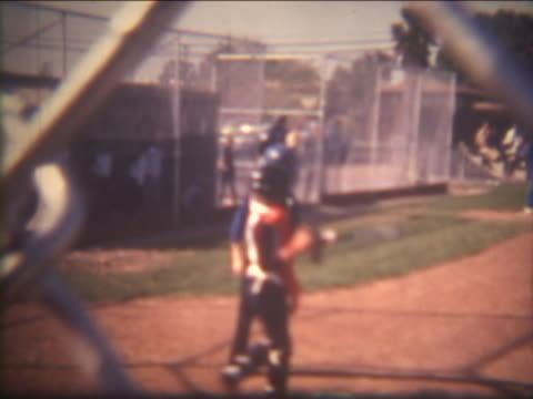 Baseball Player on Film video