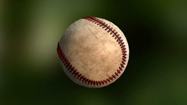vídeos y material grabado en eventos de stock de gire el béisbol - béisbol