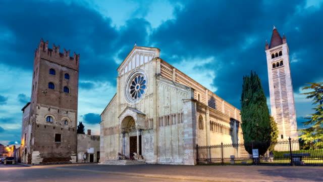 Basilica di San Zeno Maggiore in Verona video