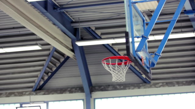 Basket and basketballs video