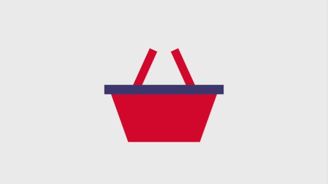 basket gift box cart shopping icons