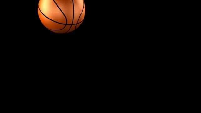 basketball bouncing hd - basketboll boll bildbanksvideor och videomaterial från bakom kulisserna