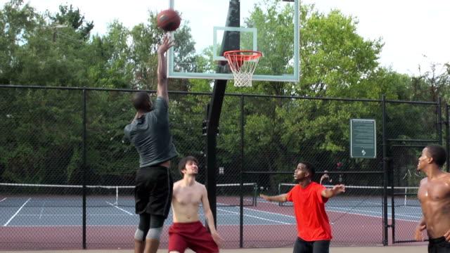 Basketball Jump Shot Wide Angle