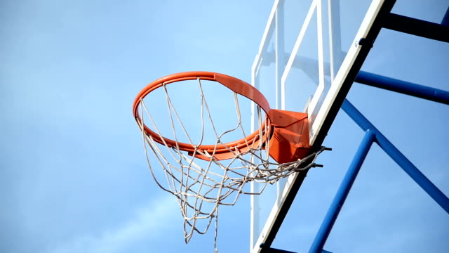 Basketball net video