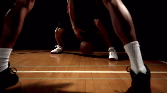 Basketball player beats defender video