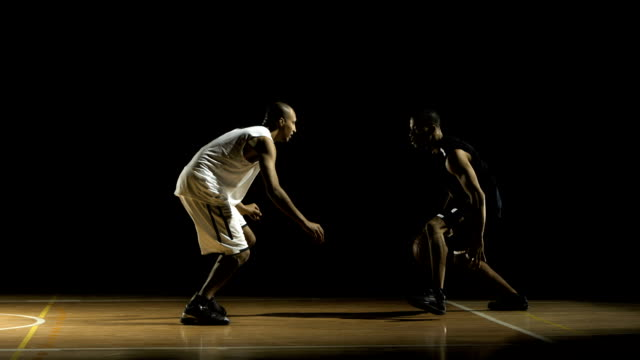 Basketball Player Dribbling (Super Slow Motion) video