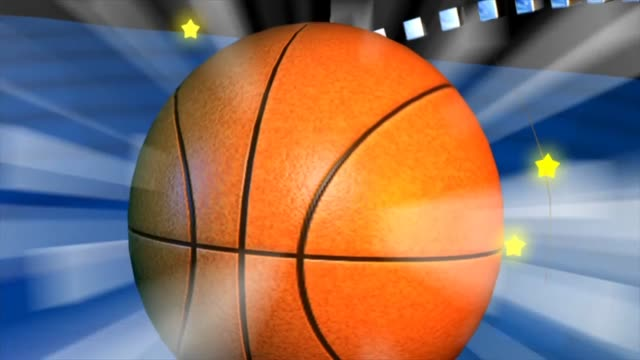 basketball sport game ball team - campionato video stock e b–roll