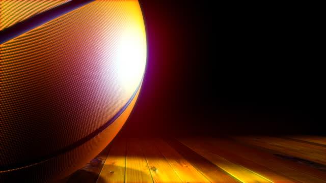 (HD1080) LOOP BasketBall video