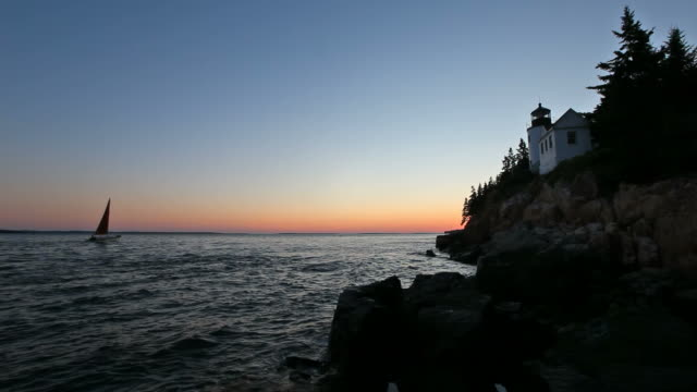 Bass Harbor Head Lighthouse video