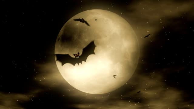 Bat Attack 2 - Halloween Party Video Background Loop video