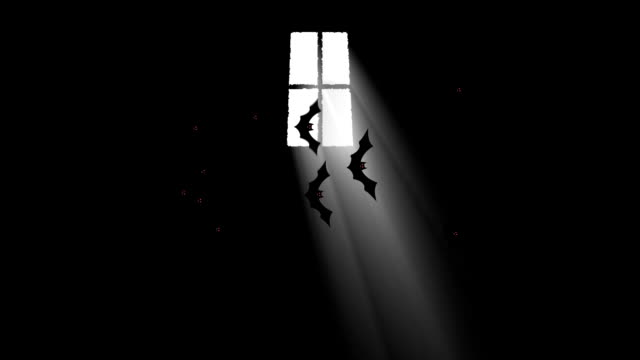 Bats Flying in a Haunted House Through a Beam of Light Bats Flying in a Haunted House Through a Beam of Light count dracula stock videos & royalty-free footage