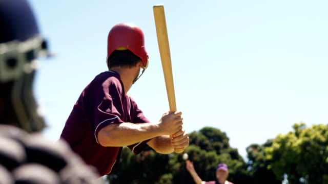 batter hitting ball during practice session - baseball stock videos and b-roll footage