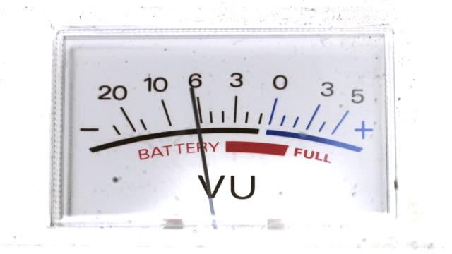 vidéos et rushes de niveau de batterie - cadran
