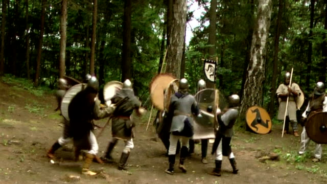battle of old times viking woriors video