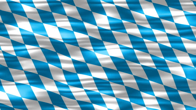 Bavarian Flag Background - loopable video