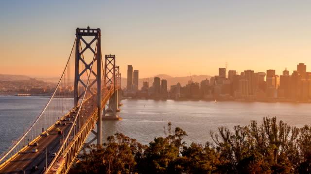 Bay Bridge in San Francisco video