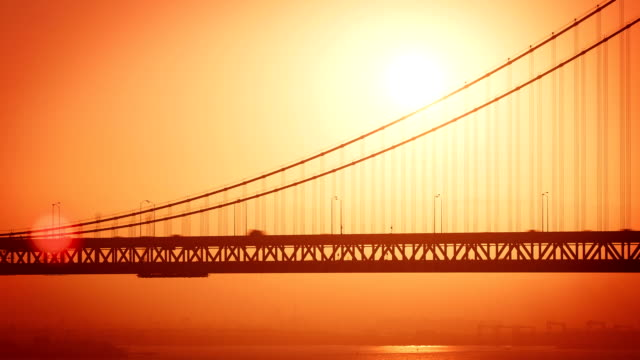 Bay Bridge Sunrise Time Lapse video