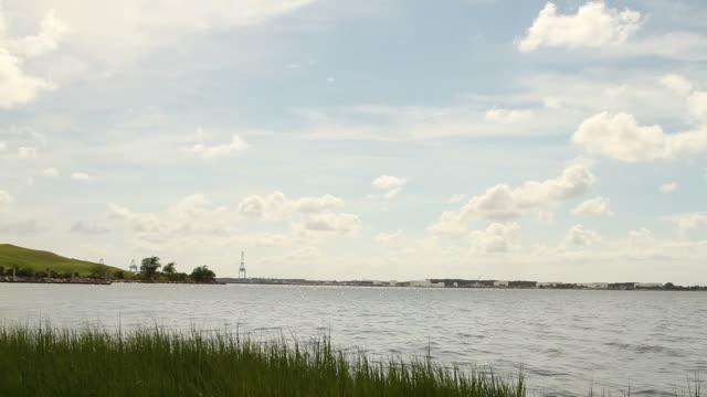 stockvideo's en b-roll-footage met bay in norfolk virginia - baai