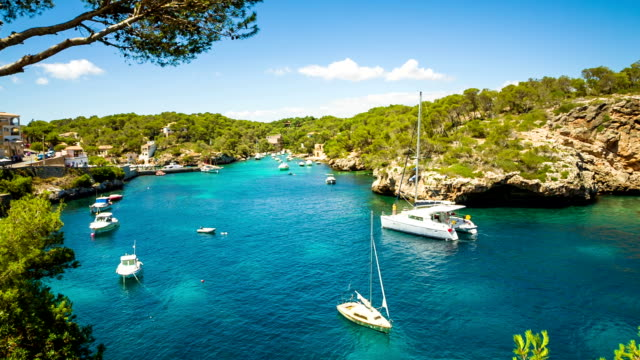 Bay of Cala Figuera, Majorca / Spain video