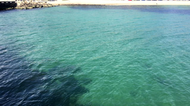 Bay, Sea Port. Gulf, Laguna. Water. video
