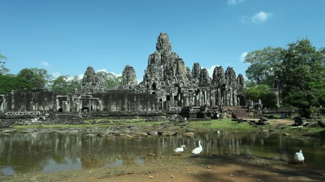 Bayon Temple, Angkor, Cambodia video