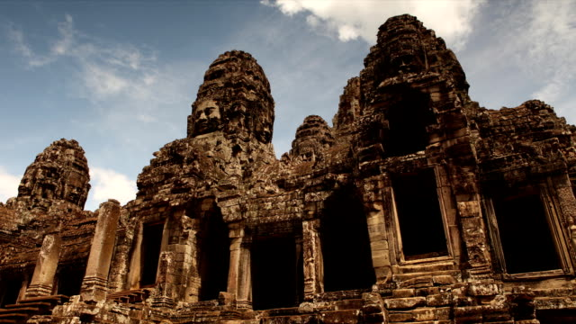 Bayon Temple Angkor Thom Time Lapse video
