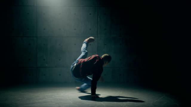 B-boy danse breakdance - Vidéo