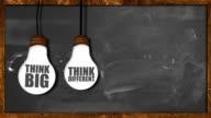 istock be Creative Looping animation on blackboard 487905679