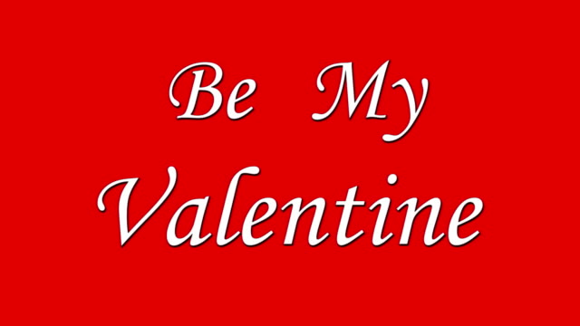 Be My Valentine video