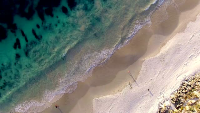 beach aerial view - western australia stock videos & royalty-free footage