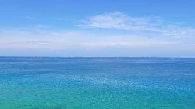 HD のビーチと海 ビデオ