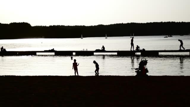 stranden och solen solnedgång hög kontrast - kontrastrik bildbanksvideor och videomaterial från bakom kulisserna