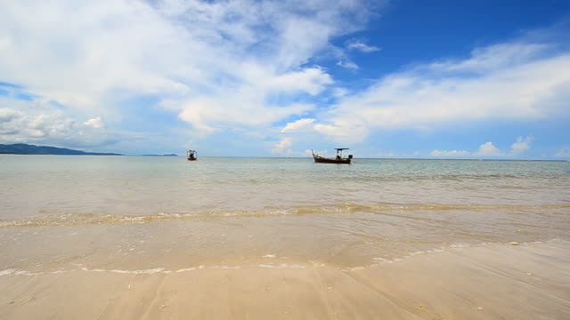 Beach at phang nga province in Thailand video