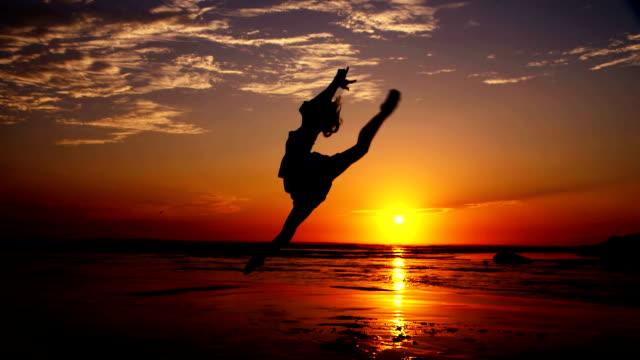 Beach Ballet at sunset video