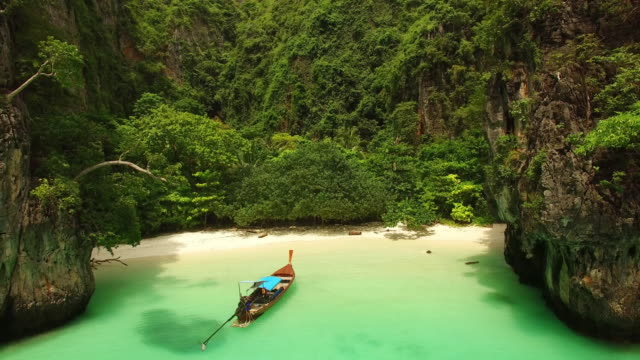 Beach by Drone, Thailand video