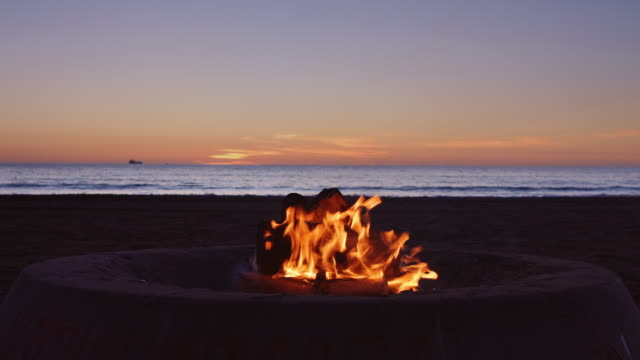 Beach Fire Pit - video