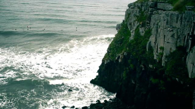 Beach in South Brazil Beach in South Brazil, Torres, Rio Grande do Sul sorpresa stock videos & royalty-free footage