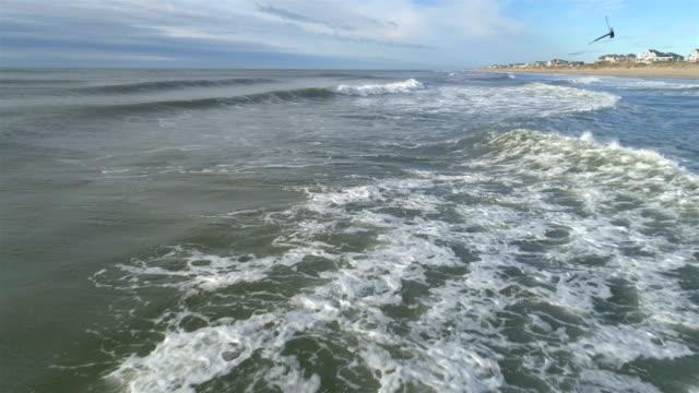 stranden områden i outer banks, nc - kustlinje bildbanksvideor och videomaterial från bakom kulisserna