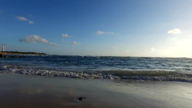 Beach on Coast of Mediterranean video