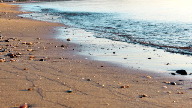 beach sand sea 4k video