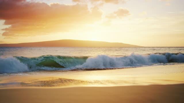 Beach Sunset in Hawaii