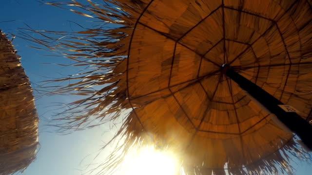 Beach umbrella video