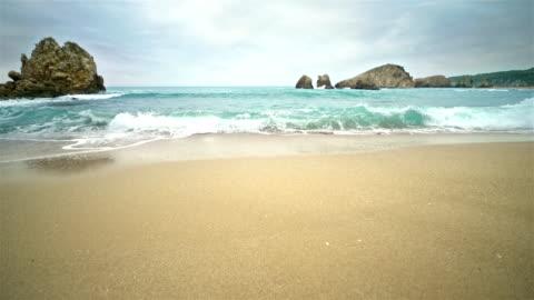 beach view cinemagraphs - risoluzione 4k - isola video stock e b–roll