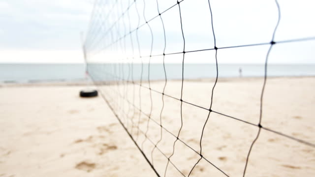 Beach-Volleyball-Bereich – Video
