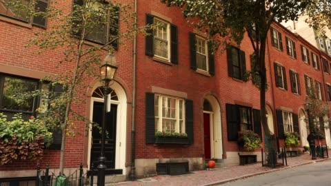 Beacon Hill neighbourhood in Boston Massachusetts USA Historical Acorn street in the Beacon Hill neighbourhood of Boston, Massachusetts apartment stock videos & royalty-free footage