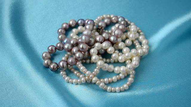 Beads from pearls video