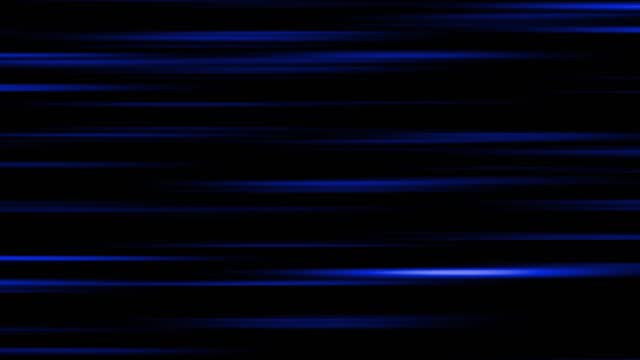 A beam of light moves in a continuous plane, reflected with light.